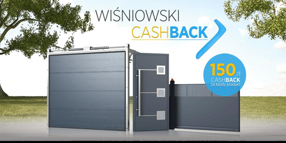 Nowa Promocja Firmy Wisniowski Cashback